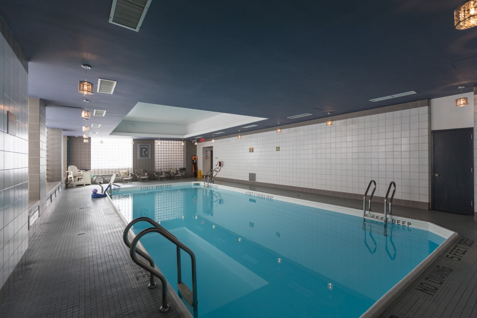 Pool at Ritz Plaza Apartments, Times Square, New York