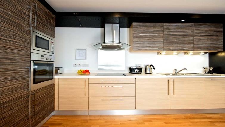 Beautiful kitchen in Staycity Edinburgh West End