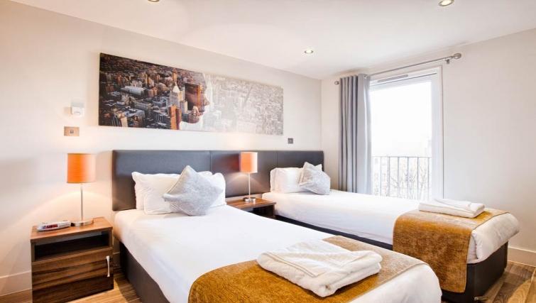Spacious bedroom in Staycity Edinburgh West End