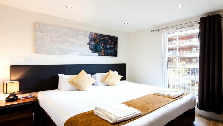 Incredible bedroom in Staycity Edinburgh West End