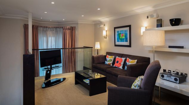 Living Room at Cheval Phoenix House, Chelsea, London