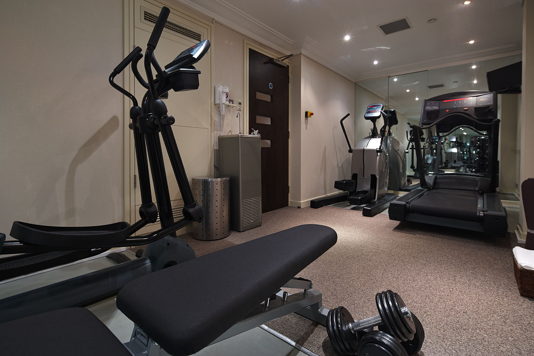 Gym at Cheval Phoenix House, Chelsea, London