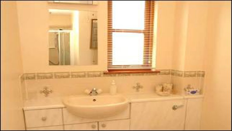 Exciting bathroom in The Golf View Apartment