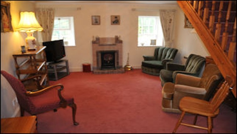 Functional living area in The Old Cottage