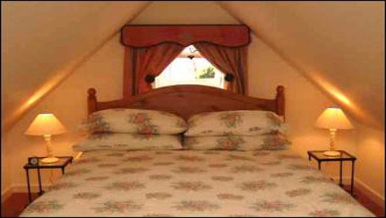 Unpretentious bedroom in The Old Cottage