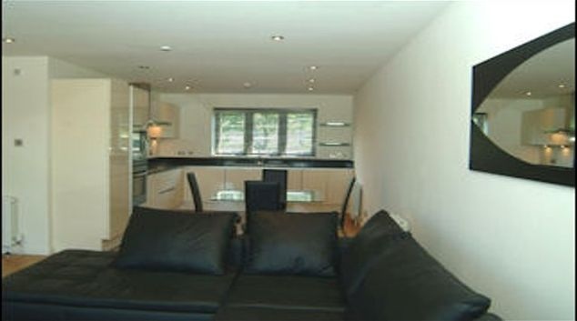 Mature living area in The Castlefield Apartment