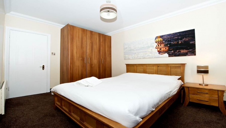 Dynamic bedroom in Staycity Dublin Christchurch