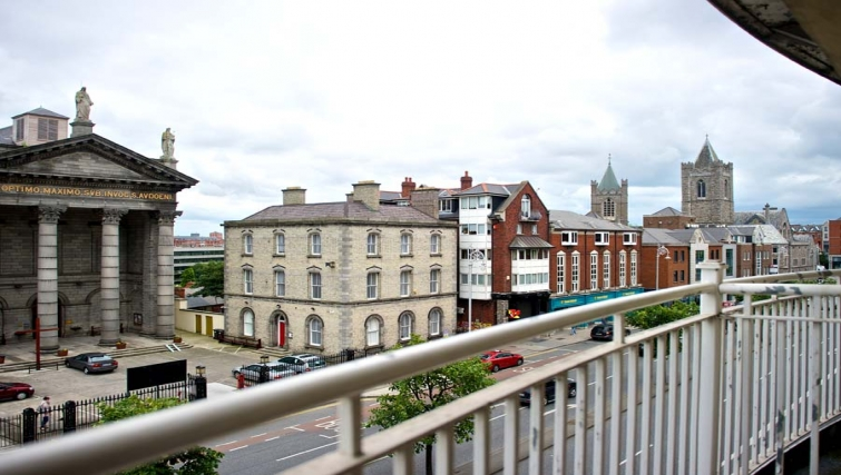 Incredible views from Staycity Dublin Christchurch
