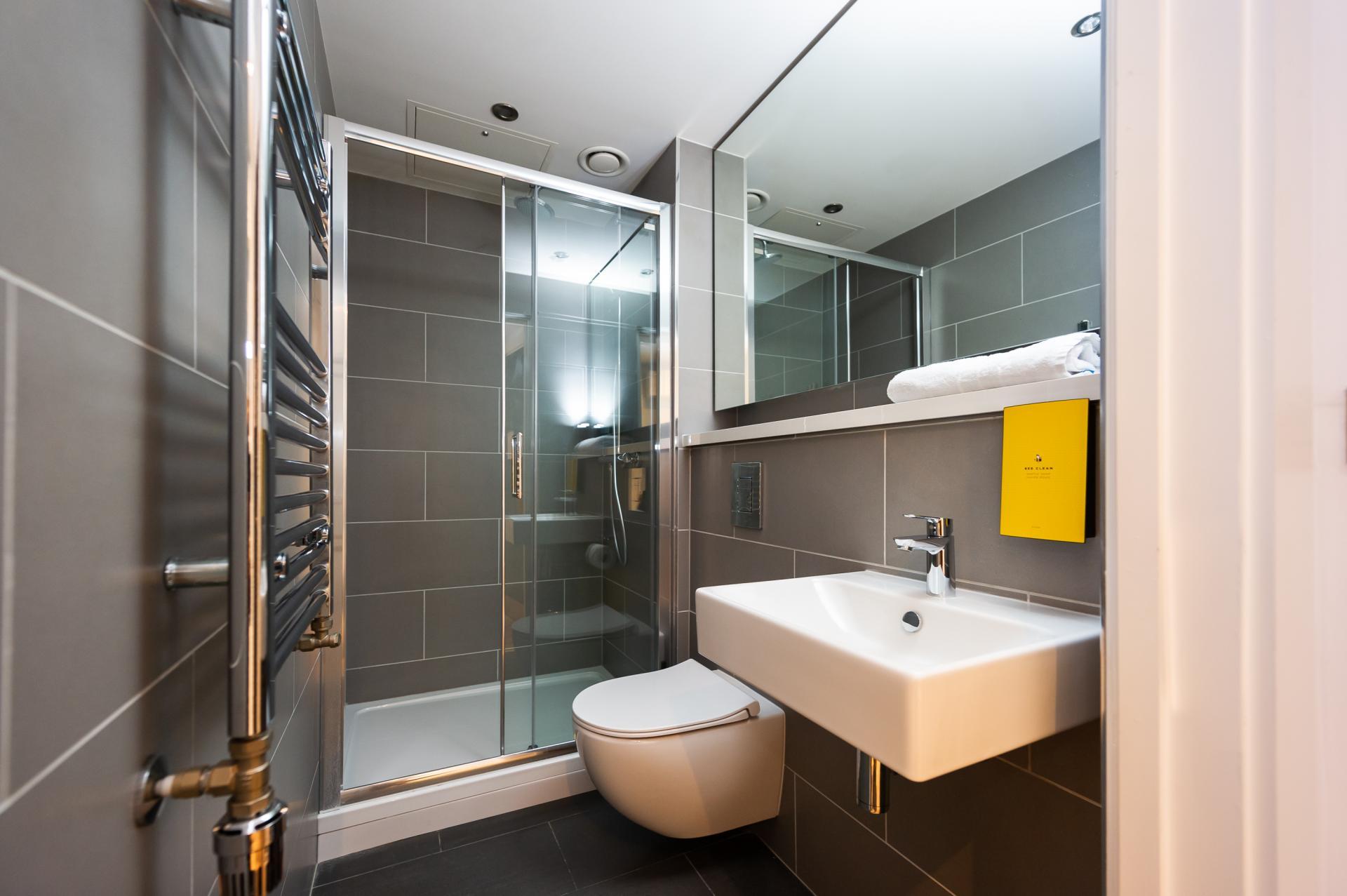 Bathroom at Staycity Dublin Christchurch, Centre, Dublin