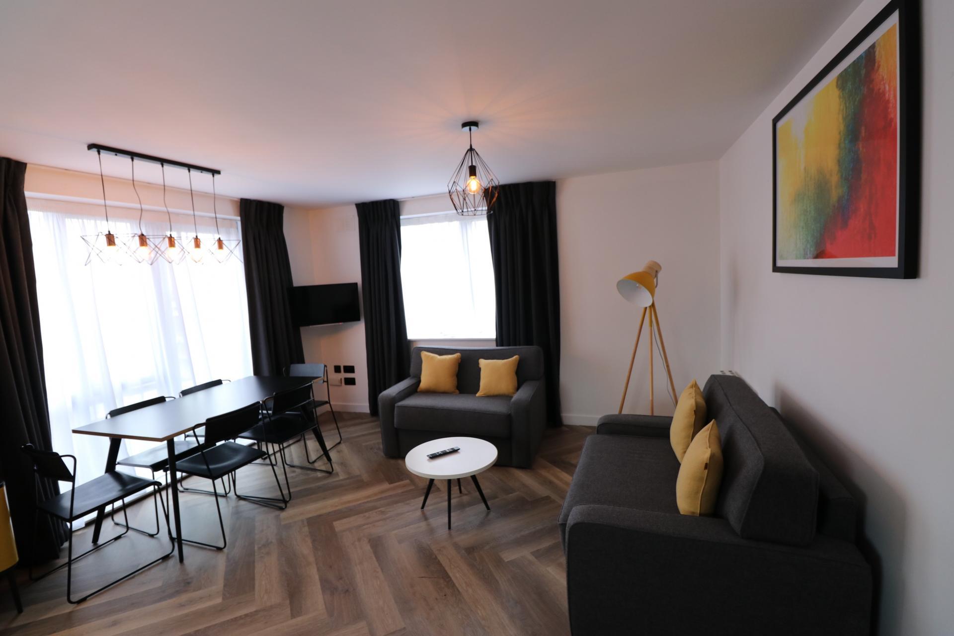 Living area at Staycity Dublin Christchurch, Centre, Dublin