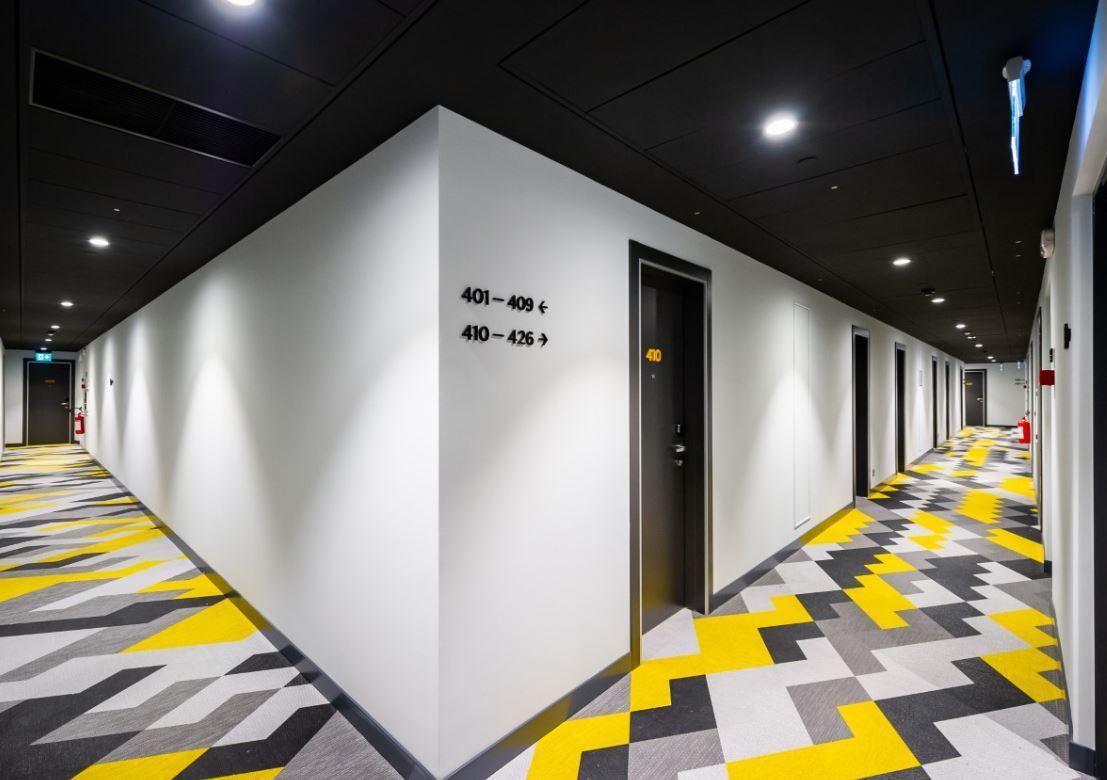 Hallway at Staycity Dublin Christchurch, Centre, Dublin
