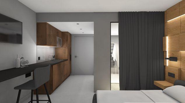 Kitchen at Basel Apartments, Basel-Vorstaedte, Basel