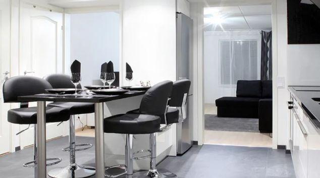 Living room at Lönngatan 10, Lönngaden, Malmö