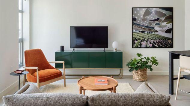 Living area at Whyle Apartments, Le Droit Park, Washington DC