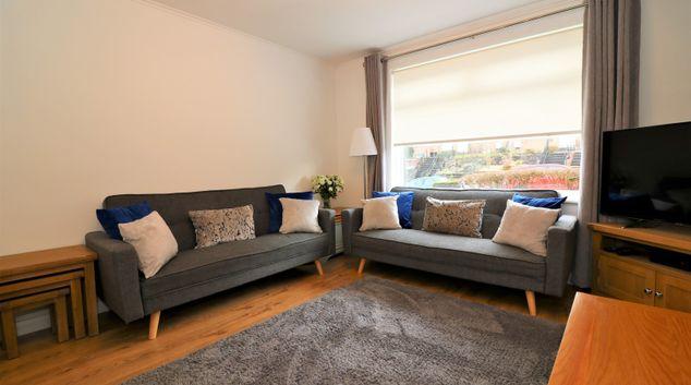Living room at Gordons House, Scotstounhill, Glasgow