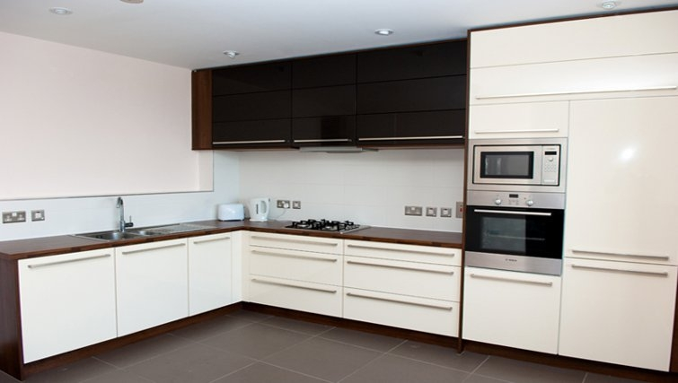 Well equipped kitchen in Titanic Arc Apartment