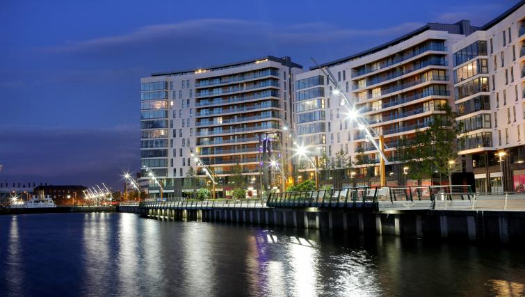 Water front at Titanic Arc Apartment