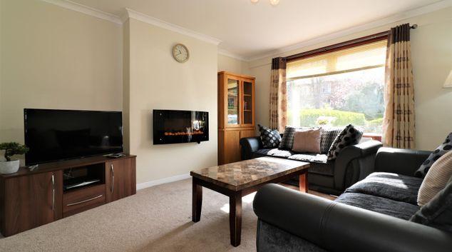 Living are at Dumbreck House, Dumbreck, Glasgow