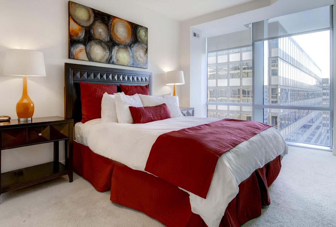 Bedroom at 220 Twentieth Street Apartments, Crystal City, Arlington