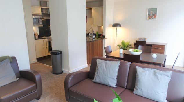 Open plan living at Surbiton Central, Surbiton, London