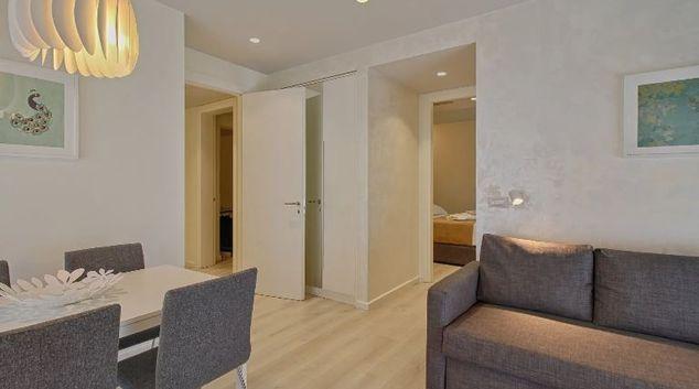Living room at Nobis Apartment, centre, Tirana