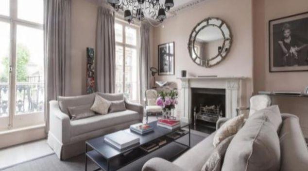Living area at Sprauncy House, De Wallen, Amsterdam