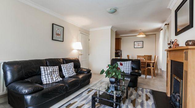 Living area at Ferncourt, Stepaside, Dublin