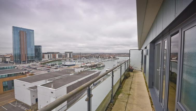 Stunning view from Splash Apartments