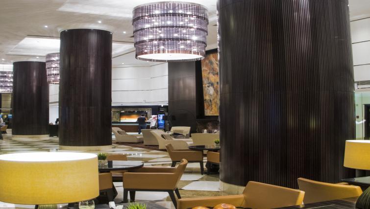 Lobby at Towers Rotana Apartments
