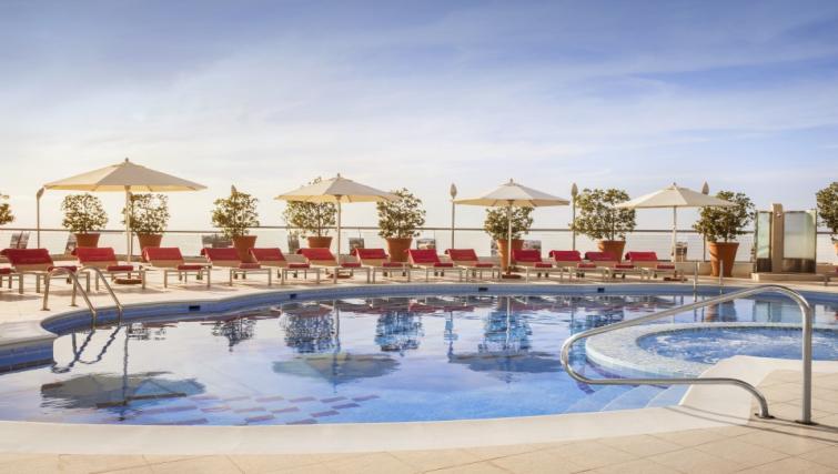 Pool at Towers Rotana Apartments