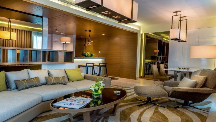 Sofa at Towers Rotana Apartments