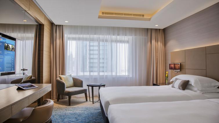 Bed at Towers Rotana Apartments