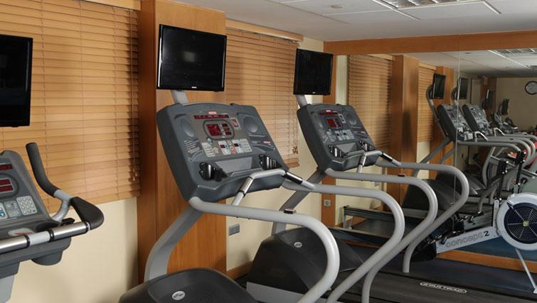 Gym at Raouche Arjaan Apartments