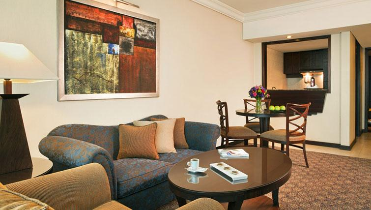 Sofa at Raouche Arjaan Apartments