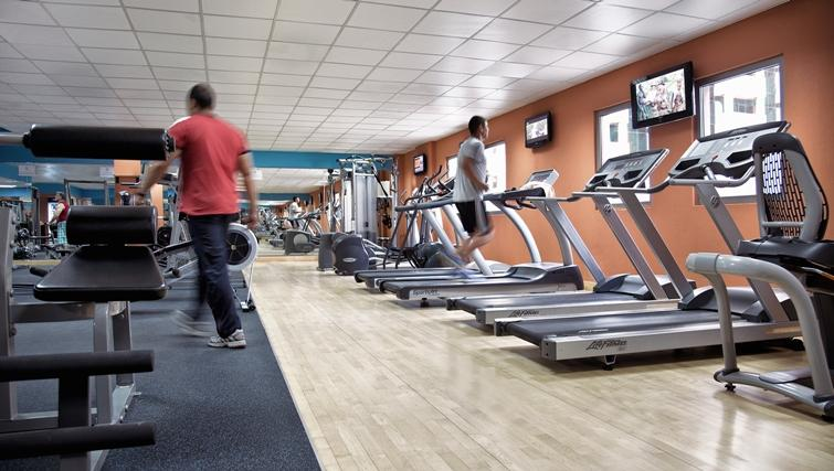 Gym at Rose Rayhaan Apartments