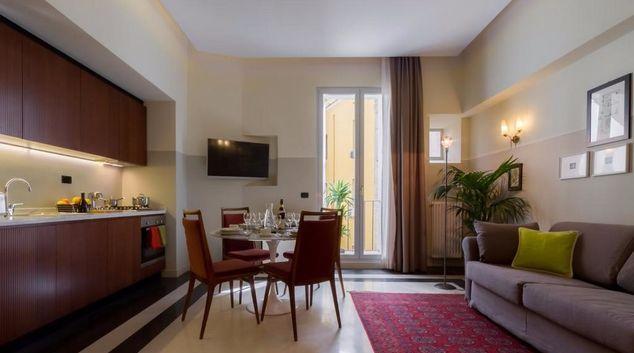 Living room at Prati Trio Apartment, Prati, Rome