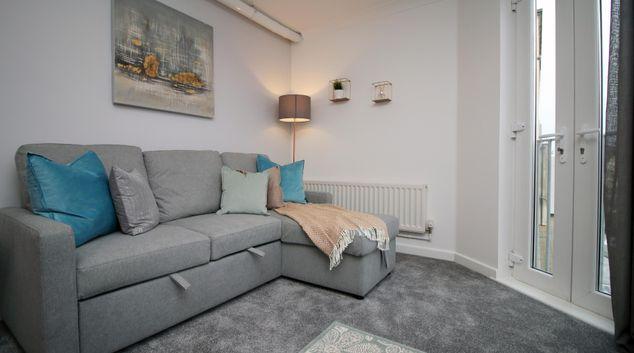 Living area at Bedminster Apartment, Bedminster, Bristol