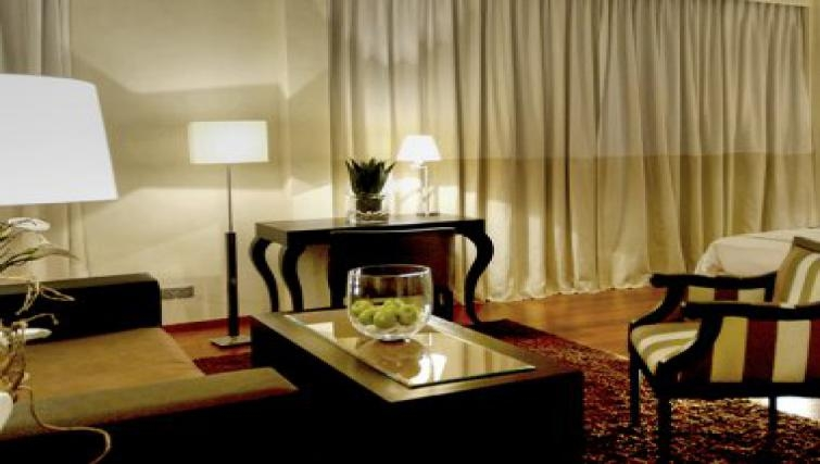 Charming living area in Park Suites Casablanca