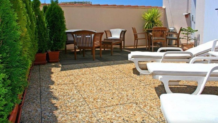 Balcony in Citadines Cannes Carnot Apartments