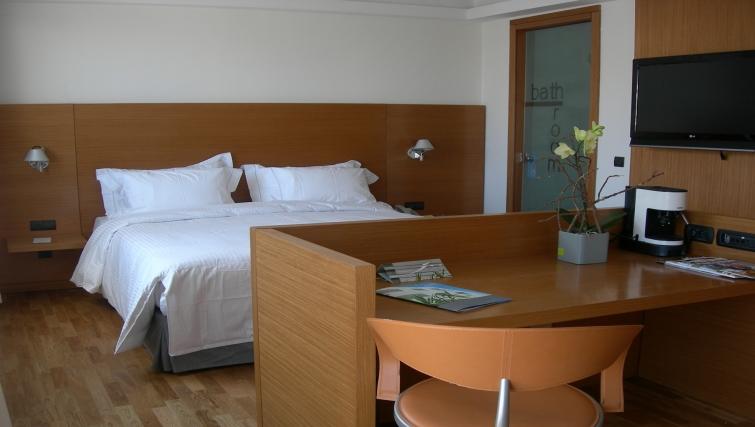 Stunning bedroom in JM Suites Hotel