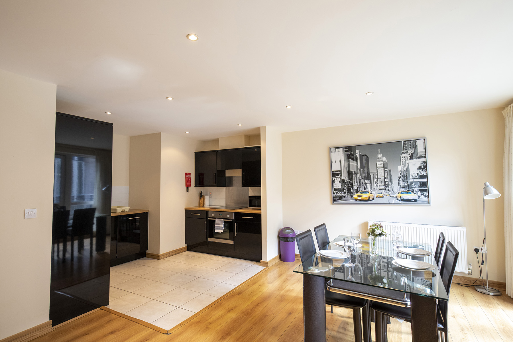 Open-plan at Flexi-Lets The Bars Apartments, Centre, Guildford