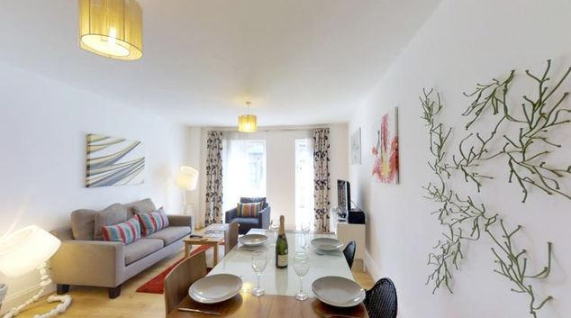 Living space at Pepys Court - The Vie