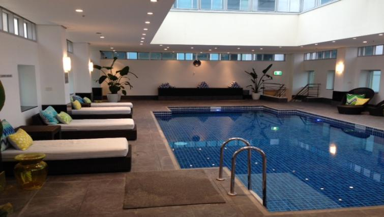 Swimming pool at The Como Melbourne Apartments