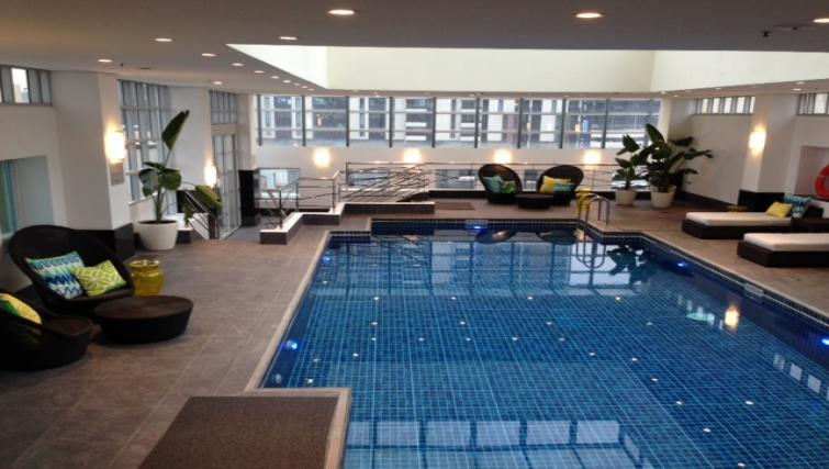 Pool at The Como Melbourne Apartments