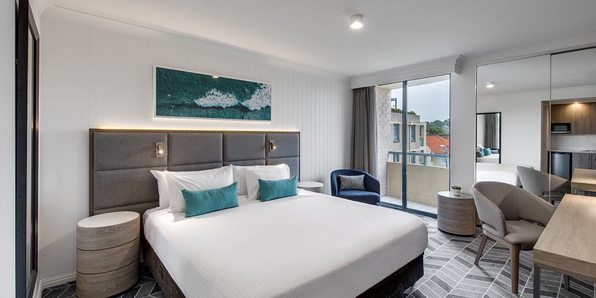 Bedroom at Adina Apartment Hotel Coogee