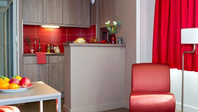 Modern kitchen in Adagio Caen Centre