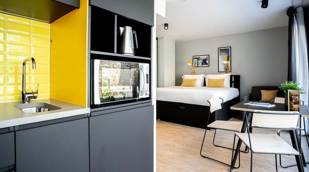 Studio at Staycity Aparthotels Bordeaux City Centre, Centre, Bordeaux
