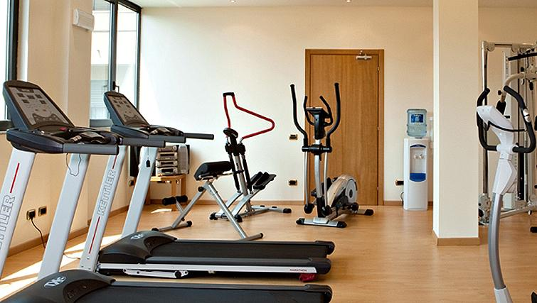 Gym at Linea Uno Residence Milano By Gruppo Una