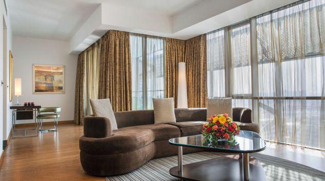 Living area at BurJuman Arjaan Apartments, BurJuman, Dubai
