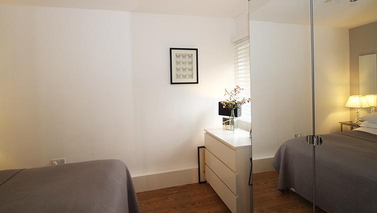 Bedroom at Mathon Court Apartment